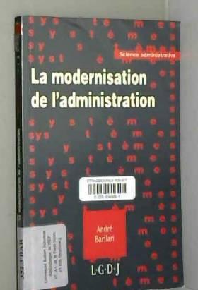André Barilari - La modernisation de l'administration