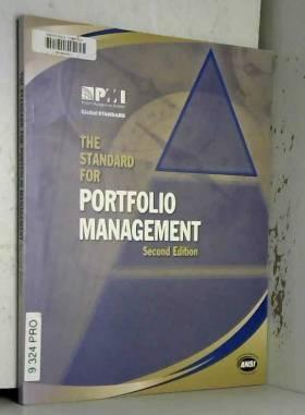 Project Management Institute - The Standard for Portfolio Management