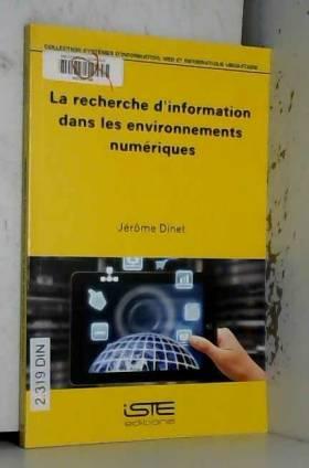 Jerome Dinet - Recherche d'Info Dans Environmnt Numeriq