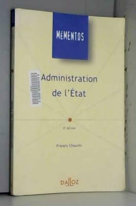 Chauvin - Administration de l'Etat