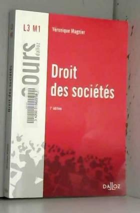 Véronique Magnier - Droit des sociétés - 7e éd.