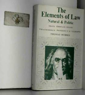 Elements of Law, Natural and Political by Thomas Hobbes (1969-11-14)