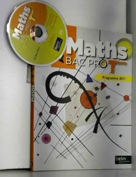 Maths Tle Bac pro :...