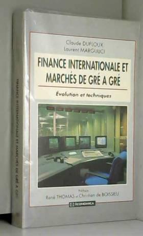 Finance internationale et...