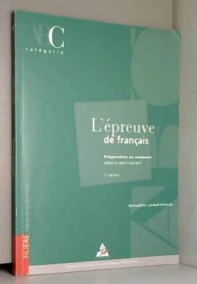 L'épreuve de français :...