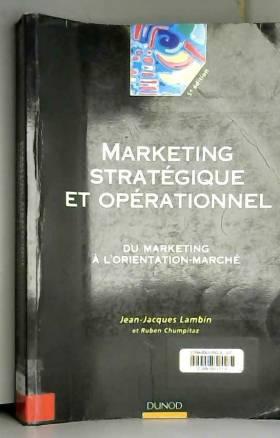 Le marketing stratégique :...