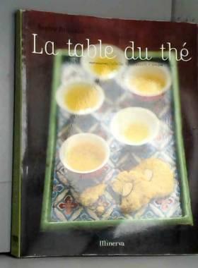 La table du thé