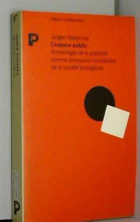 L'espace public :...