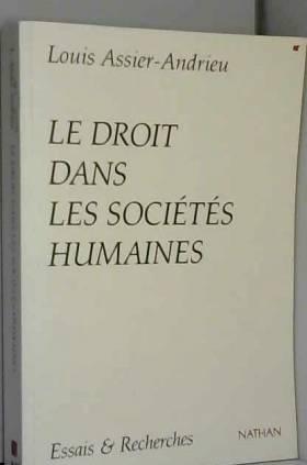 Le droit dans les sociétés...