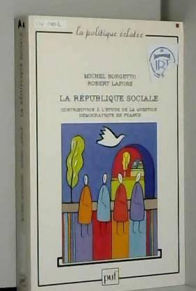 La République sociale :...