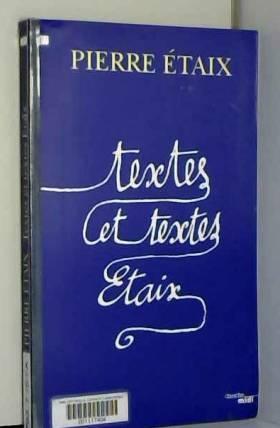 Textes et textes Étaix...