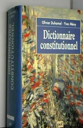 Dictionnaire constitutionnel