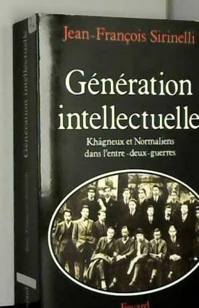 Génération intellectuelle :...