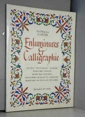 Enluminures et calligraphie