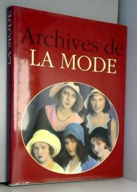 Archives de la mode