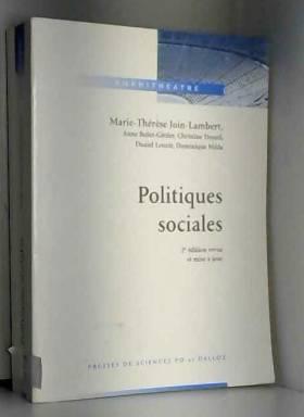 POLITIQUES SOCIALES. 2ème...