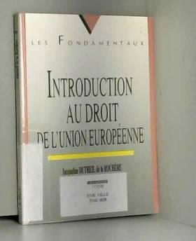 Introduction au droit de...