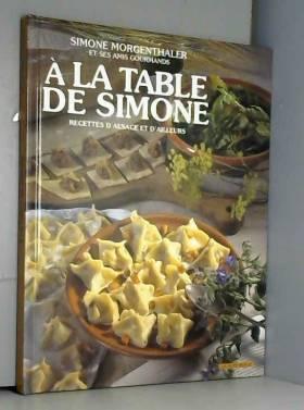 A la table de Simone :...