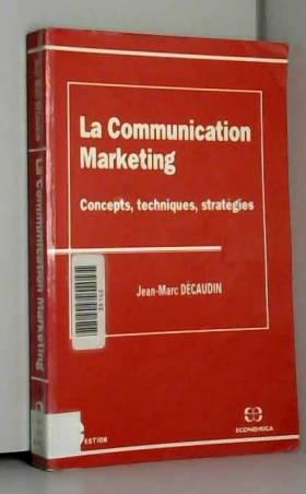 La communication marketing...