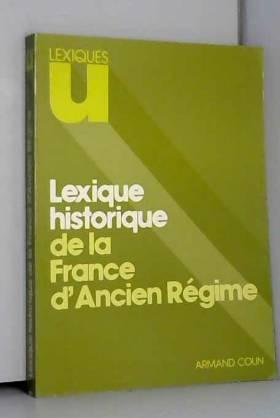 Lexique historique de la...