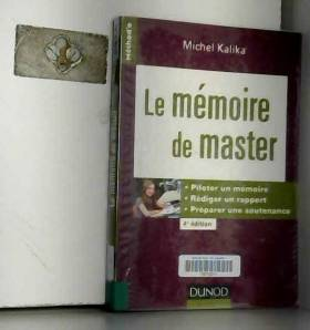 Le mémoire de master - 4e...