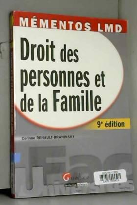 Corinne Renault-Brahinsky - Droit des personnes et de la Famille