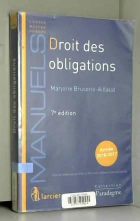 Marjorie Brusorio-Aillaud - Droit des obligations