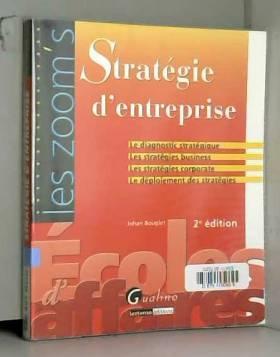 Johan Bouglet - Stratégie d'entreprise