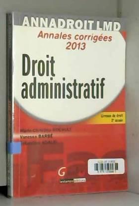 Droit administratif Annales...