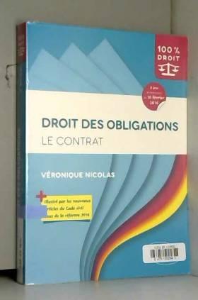 Véronique Nicolas - Droit des Contrats