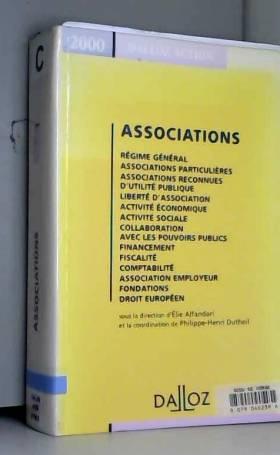 Alfandari et Elie Alfandari - Associations 2000