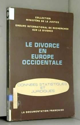 Le Divorce en Europe Occidentale