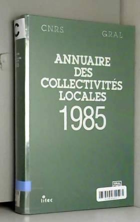 Perrier - Annuaire des collectivités locales, 1985 (ancienne édition)
