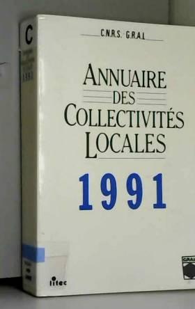 CNRS-GRALE - Annuaire des collectivités locales, 1991 (ancienne édition)