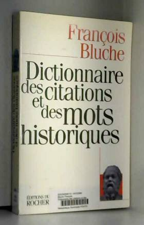 Dictionnaire des citations...