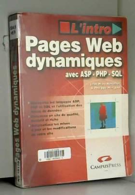 Pages web dynamiques avec...