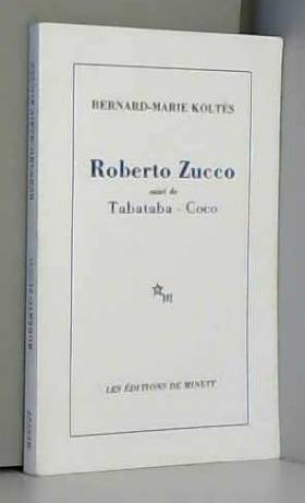 Roberto Zucco suivi de...
