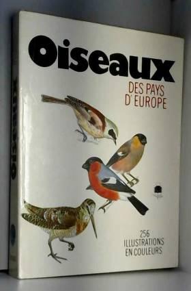 Oiseaux des pays d'Europe....