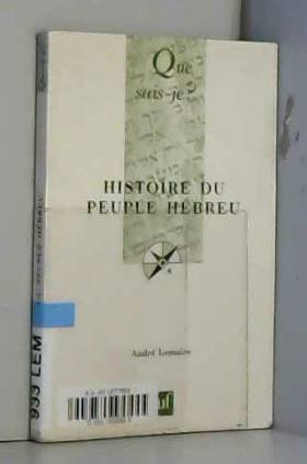 Histoire du peuple hebreu