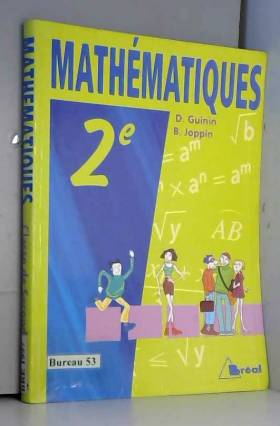 Mathématiques, classes de...