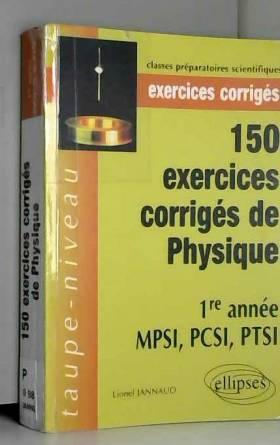 150 Exercices Corriges De...