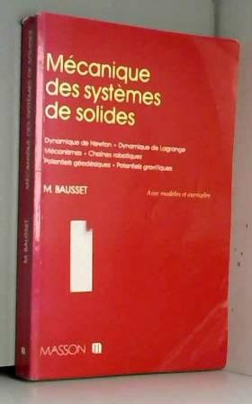 MECANIQUE DES SYSTEMES DE...