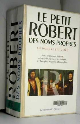 PETIT ROBERT DES NOMS...