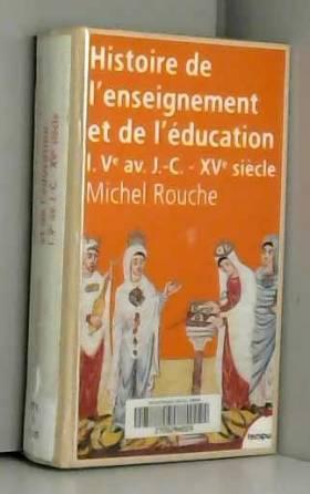 Histoire de l'enseignement...