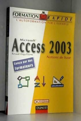 Access 2003 : Notions de base