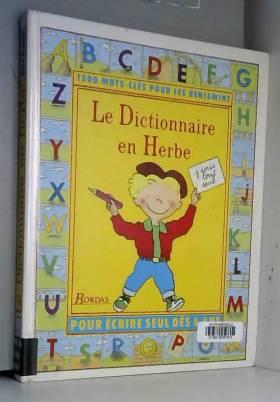 Le Dictionnaire en herbe