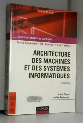Architecture des machines...