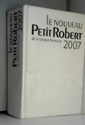 Le Nouveau Petit Robert :...