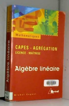 Algèbre linéaire : licence,...