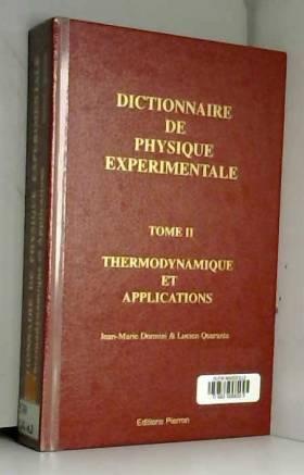Dictionnaire de physique...